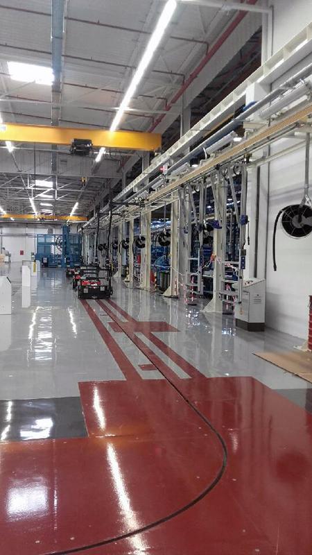 montage installation usine
